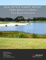 Vero Beach Mainland Real Estate Market Report July 2021