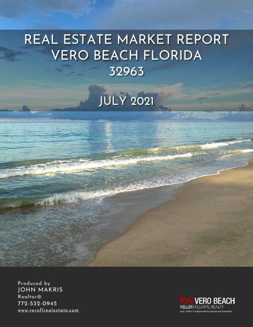Vero Beach 32963 Real Estate Market Report July 2021
