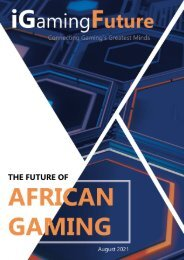 The Future of African Gaming - Aug 2021