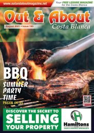 Out and About Magazine Costa Blanca Spain -Aug-issue-190