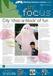 City 'choc-a-block' of fun - Mackay Regional Council - Queensland ...