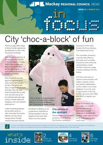 City 'choc-a-block' of fun - Mackay Regional Council - Queensland ...