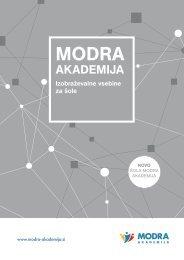 Katalog: Modra akademija 2021/22