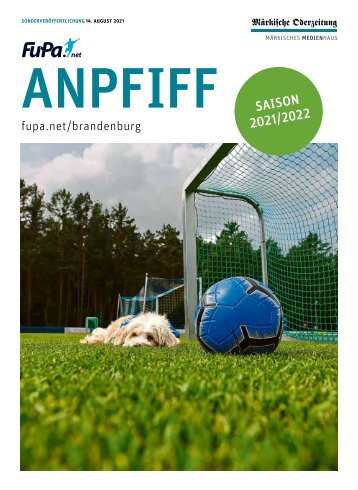 Anpfiff Beilage Saison 2021-2022   Fußballkreis Ostbrandenburg