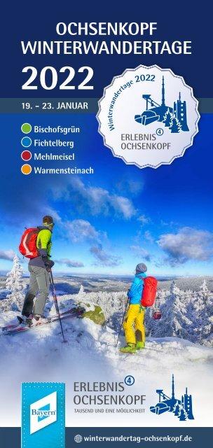 Ochsenkopf Winterwandertage im Januar 2022