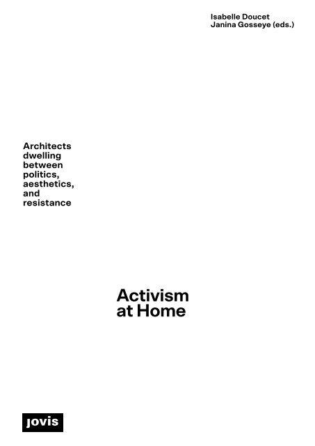 Activism at Home