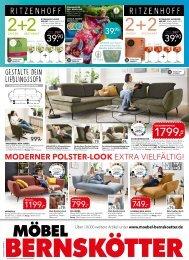 Werbung KW33 - Möbel Bernskötter