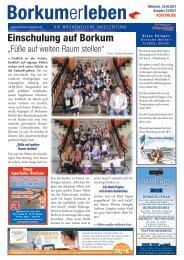 18.08.2021 / Borkumerleben - Die wöchentliche Inselzeitung
