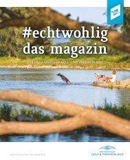 #echtwohlig: Thermenlandmagazin 2021