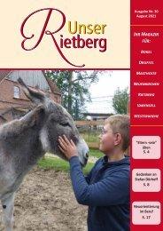 Unser Rietberg - August 2021