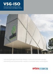 Science Center Wels - Ertex Solar