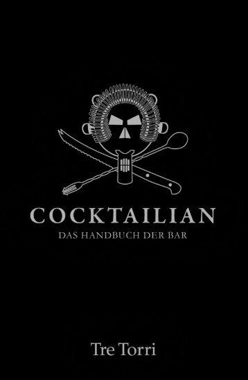 Cocktailian - Das Handbuch der Bar