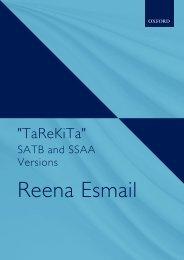 TaReKiTa Voicings- Reena Esmail