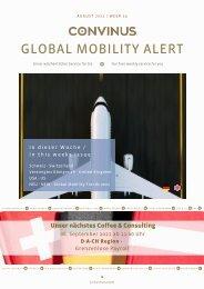 CONVINUS Global Mobility Alert Week 33