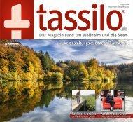 tassilo - das Magazin rund um Weilheim und die Seen - Ausgabe September/Oktober 2021