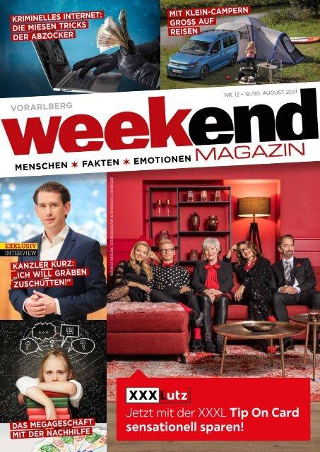 Weekend Magazin Vorarlberg 2021 KW 33