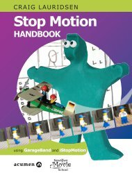Lesson plan - Stop Motion Handbook