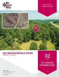 853 Meadowdale Road [Land] Marketing Flyer