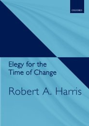 Elegy for the Time of Change