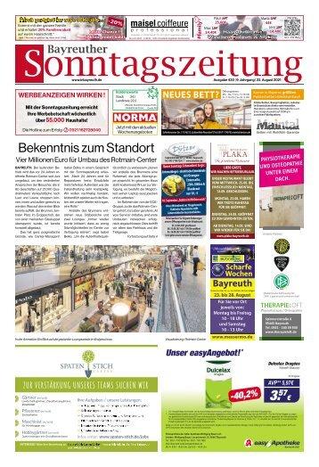 2021-08-22 Bayreuther Sonntagszeitung