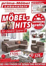 Möbelhits für clevere Sparer - prima-Möbel Lobenstein