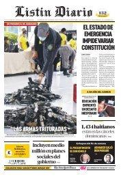 Listín Diario 21-08-2021