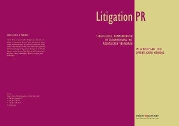 Litigation PR - Ecker & Partner