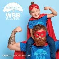 WsB-Wir sind Berlin Wahlprogramm 2021
