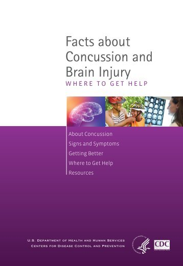 Facts About Concussion and Brain Injury - Centers for Disease ...