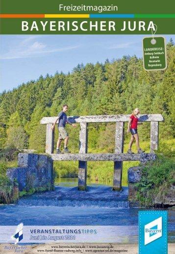 Freizeitmagazin Bayerischer Jura Sommer 2021