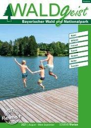 Erlebnismagazin WALDgeist Sommer 2021