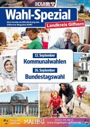 KURT 09/2021 Sonderveröffentlichung Wahl-Spezial Landkreis Gifhorn