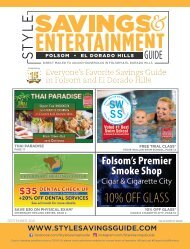 Style Savings and Entertainment Guide - September 2021
