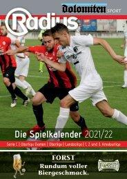 Fußball Spielkalender 2021/22