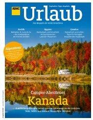 ADAC Urlaub Magazin, September-Ausgabe 2021, Württemberg