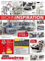 Werbung KW34 - Möbel Bernskötter