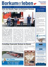 25.08.2021 / Borkumerleben - Die wöchentliche Inselzeitung