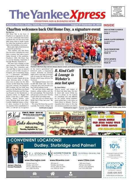 The Yankee Xpress August 27, 2021 Issue