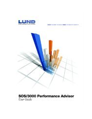 Pulse Points Screen Display Items - Lund Performance Solution