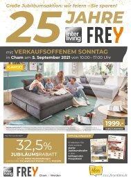 Interliving FREY  Jubi-Prospekt Vollsortiment + VOS - KW35