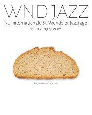WND JAZZ 30. internationale St. Wendeler Jazztage