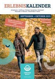 Erlebniskalender Lübecker Bucht September & Oktober 2021