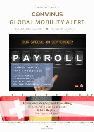 CONVINUS Global Mobility Alert Week 34