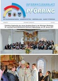 Informationsblatt-2011-02 - Markt Pförring