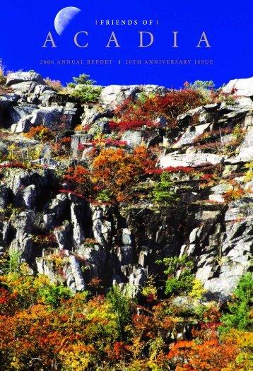 celebrating twenty years - Friends of Acadia
