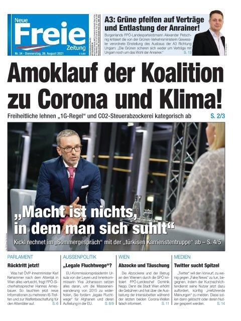 Amoklauf der Koalition zu Corona und Klima!