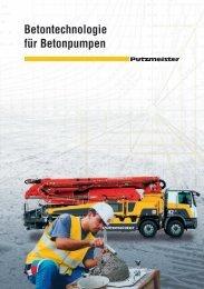 Betontechnologie für Betonpumpen - Putzmeister