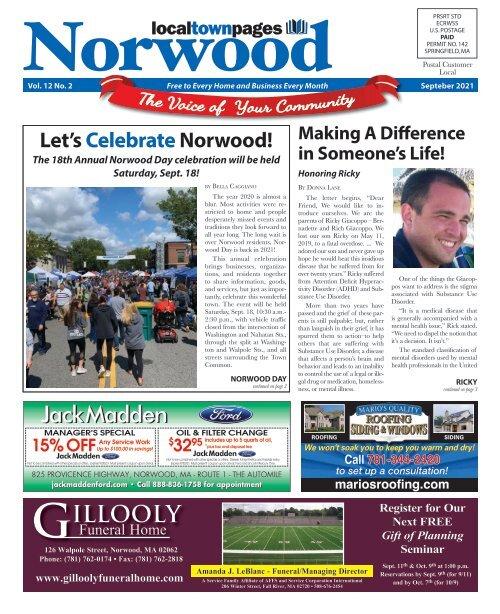 Norwood September 2021
