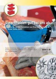 Katalog runterladen Fleischereibedarf Naturdärme ... - LM-Kiel