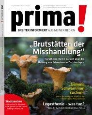 Prima Magazin - Ausgabe September 2021
